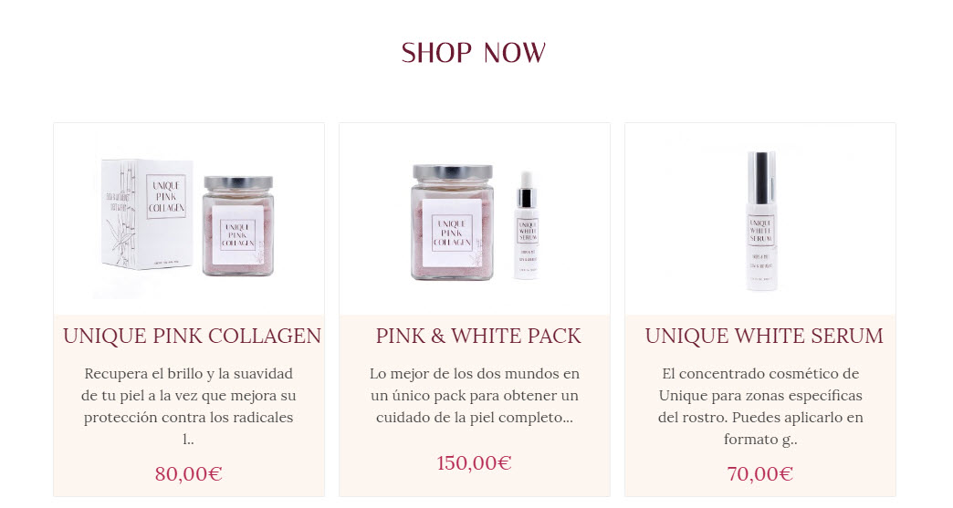 Unique Pink Collagen